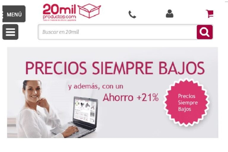 20milproductos homepage