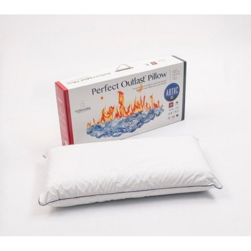 Almohada viscoelastica con tejido térrmico