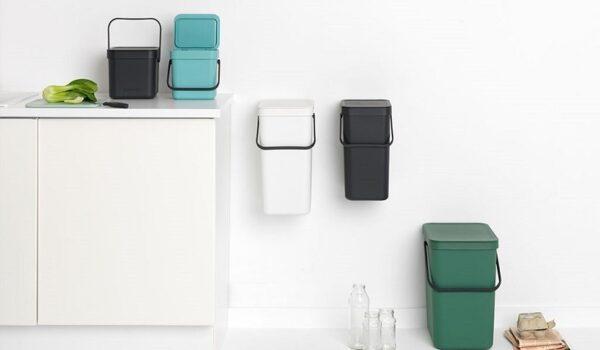 Clasificar y reciclar de forma consciente con Brabantia