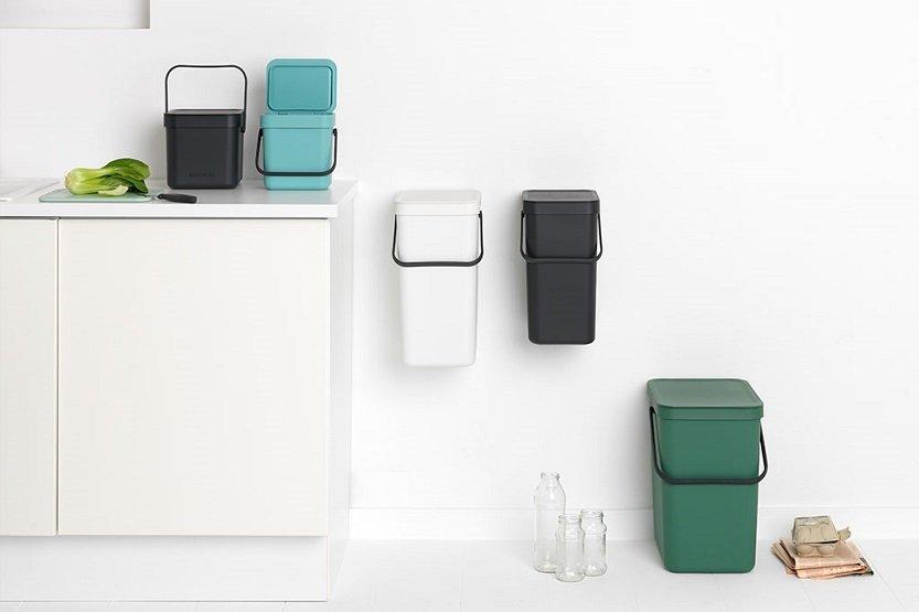 Lee más sobre el artículo Clasificar y reciclar de forma consciente con Brabantia