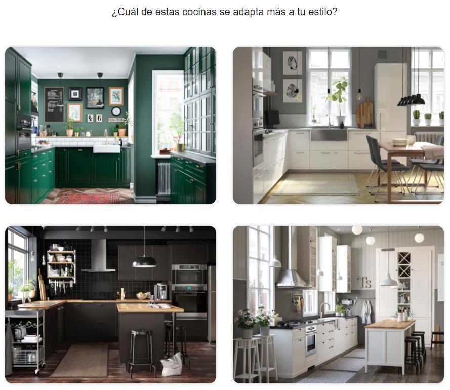 Elegir un estilo de cocina Ikea