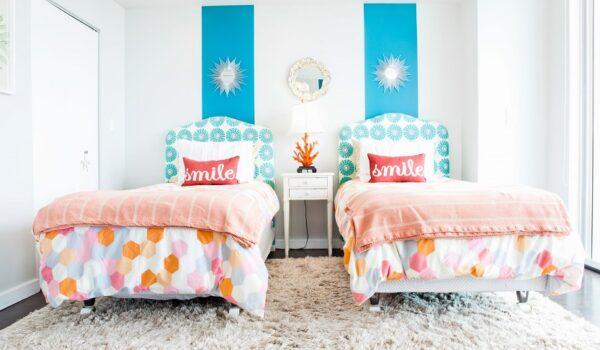 Los mejores accesorios decorativos para dormitorios infantiles compartidos