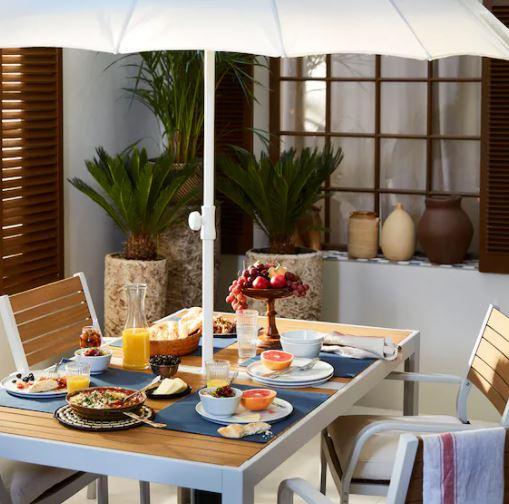 Mesa y silla de jardín Själland Ikea
