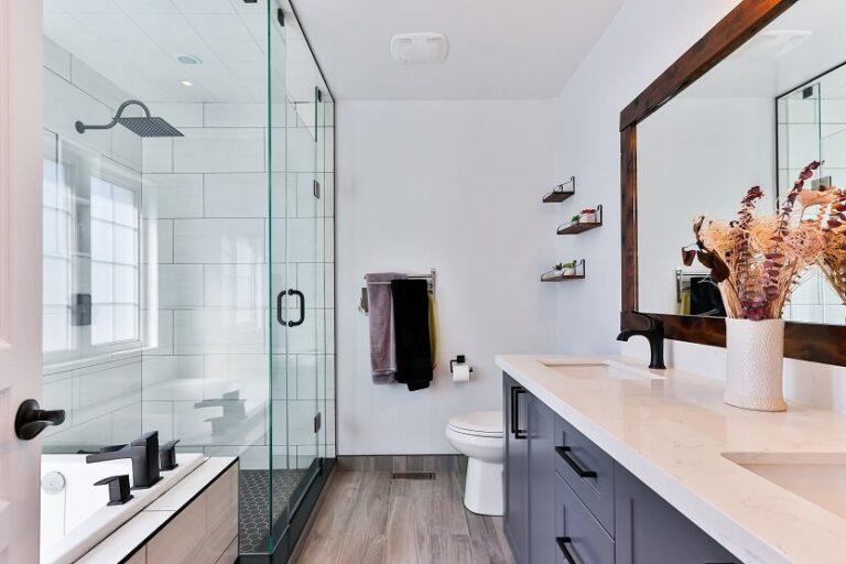 Paredes de cristal para baños