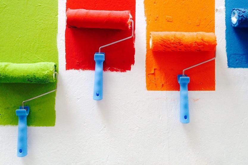 Lee más sobre el artículo Colores de pintura para paredes, cuál usar