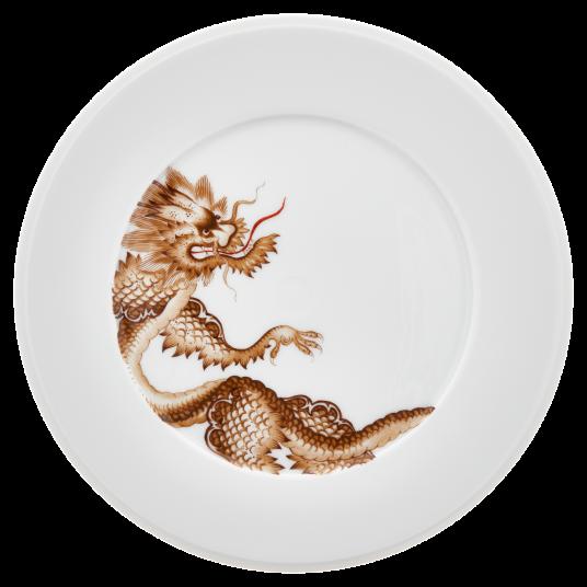 Plato de postre Meissen porcelana