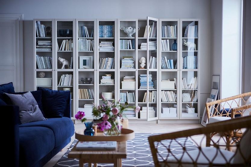 Lee más sobre el artículo Las estanterías Ikea para tu salón, cuál elegir