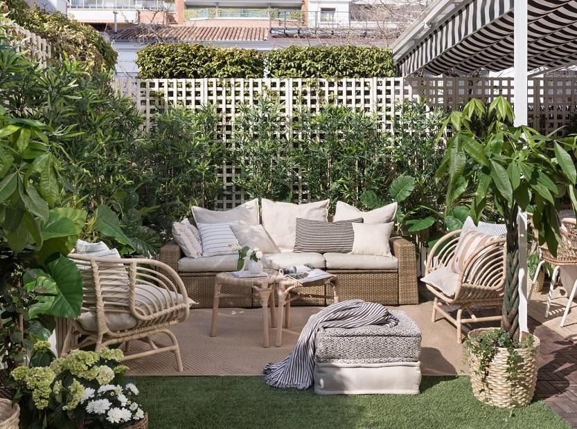 En este momento estás viendo Alegra tu casa con los muebles de jardín Ikea