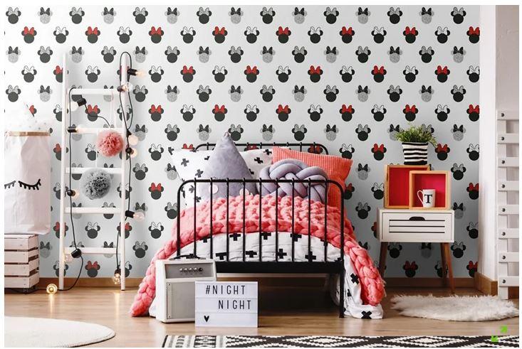 Lee más sobre el artículo Decorar un dormitorio con papel pintado infantil
