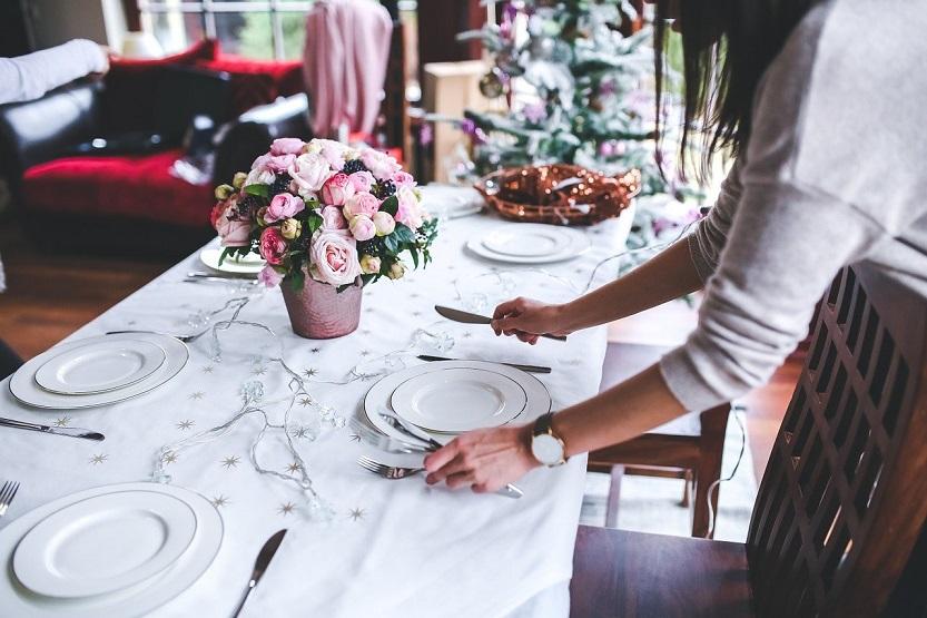 Tipos de platos en la mesa ideal